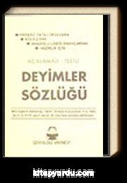 Deyimler Sözlüğü / Karton Kapak