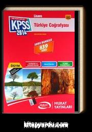 2014 KPSS Lisans Türkiye Coğrafyası Soru Bankası (839 Soru)