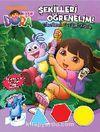 Dora - Şekilleri Öğrenelim / Çıkartmalı Faaliyet Kitabı