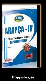 AÖF Arapça IV 2. Sınıf Bahar Dönemi (4.Yarıyıl) (AF-124-ARP)