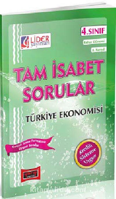 AÖF Türkiye Ekonomisi 4. Sınıf Bahar Dönemi (8. Yarıyıl) Tam İsabet Sorular (AF-248-TEK)