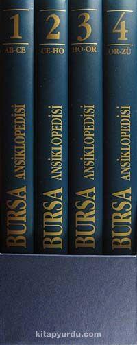 Bursa Ansiklopedisi (4 Cilt Kutulu) (5-I-1) -  pdf epub
