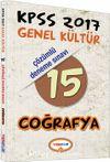 2017 KPSS Genel Kültür Coğrafya 15 Çözümlü Deneme Sınavı