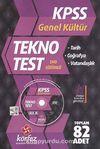 KPSS Genel Kültür Tekno Poşet Test (Dvd'li)