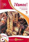 Vamos 3 (Ders Kitabı ve Çalışma Kitabı +CD) İspanyolca Orta Seviye