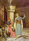 Silah Taciri / Osman Hamdi Bey (OHB 007-35x50) (Çerçevesiz)
