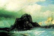 Kaya Adası / Ivan Konst. Aivazovsk (AIK 009-30x45) (Çerçevesiz)
