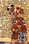 Sarılma / Gustave Klimt (KLG 009-30x45) (Çerçevesiz)