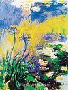 Les Agapanthes / Claude Monet (MCL 00-30x40) (Çerçevesiz)