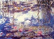 Nilüferler / Claude Monet (MCL 003-70x100) (Çerçevesiz)
