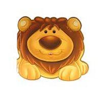 Aslan / Sevimli Hayvanlar Çıkartmalı Boyama -  pdf epub