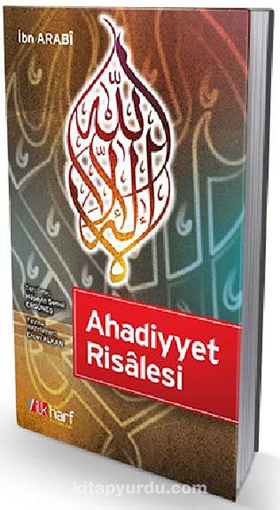 Ahadiyyet Risalesi - Muhyiddin İbn Arabi pdf epub