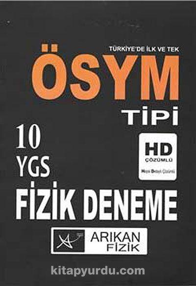 ÖSYM Tipi YGS Fizik Deneme (10 Deneme)