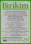 Birikim / Sayı:241  Yıl: 2009 / Aylık Sosyalist Kültür Dergisi