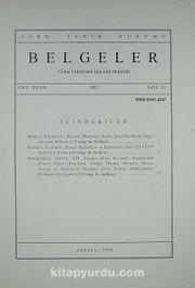 Belgeler Dergisi Sayı 32