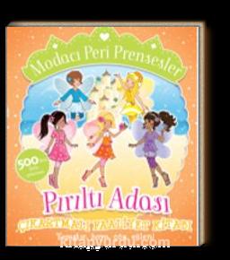 Modacı Peri Prensesler - Pırıltı Adası Çıkartmalı Faaliyet Kitabı