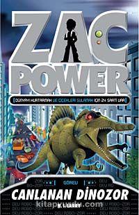 Canlanan Dinozor / Zac Power - H. I. Laryy pdf epub