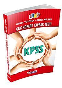 2012 KPSS Genel Yetenek - Genel Kültür Çek Kopart Yaprak Test - Komisyon pdf epub