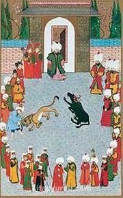 Minyatür / Ali Çelebi (ALC 003-40x65) (Çerçevesiz)