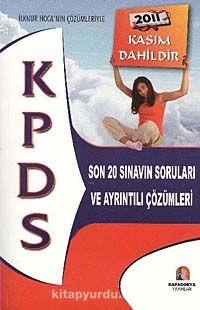 2011 KPDS Son 20 Sınavın Soruları ve Ayrıntılı Çözümleri -  pdf epub