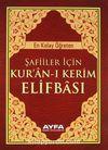 Şafiiler İçin Kuran-ı Kerim Elifbası (Cep Boy) (Kod:013)