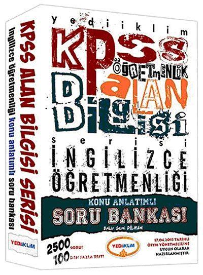 KPSS Öğretmenlik Alan Bilgisi İngilizce Öğretmenliği Konu Anlatımlı Soru Bankası - B.Sami Dilman pdf epub