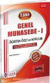 1. Sınıf 1. Yarıyıl Güz Dönemi Genel Muhasebe -1 Öğreten Özet ve Sorular (Kod:AF-111-GMU)