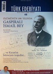Türk Edebiyatı / Aylık Fikir ve Sanat Dergisi Sayı:486 Nisan 2014