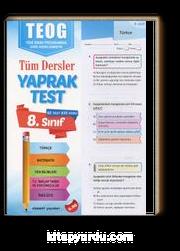 8. Sınıf Teog Tüm Dersler Yaprak Test 62 Test, 835 Soru