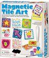Karo Mıknatıs Sanatı - Magnetic Tile Art (00-04563)