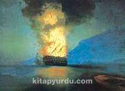 Patlayan Gemi-1900 / Ivan Konst. Aivazovsk (AIK 008-50x70) (Çerçevesiz)