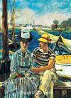 Argenteuil-1874 / Edouard Manet (MAE 001-50x70) (Çerçevesiz)