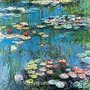 Nilüferler-1914 / Claude Monet (MCL 002-40x40) (Çerçevesiz)