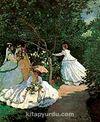 Bahçede Kadınlar / Claude Monet (MCL 035-60x75) (Çerçevesiz)