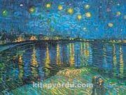 Ren Üzerinde Yıldızlı Gece / Vincent Van Gogh (VGV 012-30x40) (Çerçevesiz)