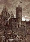 Galata Kulesi / William Henry Barrlett (GRV 062-70x100) (Çerçevesiz)