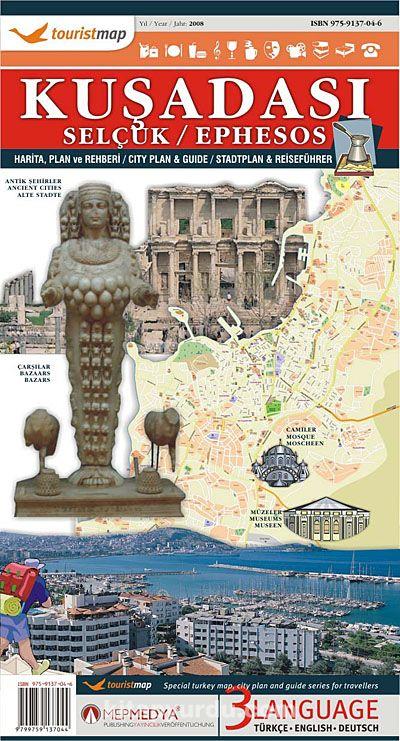 Touristmap Kuşadası Selçuk Efes Harita Ve Rehberi Kitapyurducom