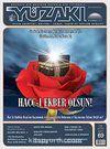 Yüzakı Aylık Edebiyat, Kültür, Sanat, Tarih ve Toplum Dergisi/Sayı:69 Kasım 2010