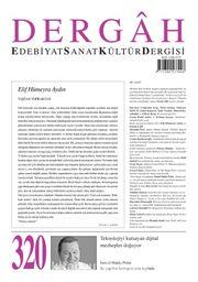 Dergah Edebiyat Sanat Kültür Dergisi Sayı 320 Ekim 2016