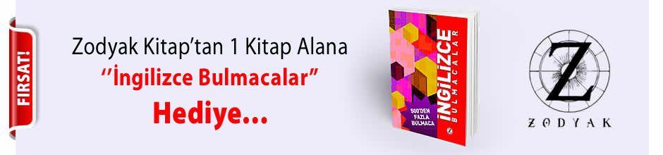 Zodyak Kitap'tan 1 Kitap Alana ''İngilizce Bulmacalar'' Kitabı Hediye...