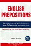 English Prepositions & İngilizce Edatlar Edat İçeren İfadeler ve Deyimler