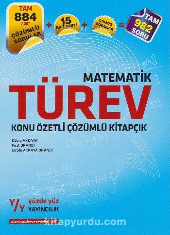LYS Matematik Türev Konu Özetli Çözümlü Kitapçık - Kollektif pdf epub