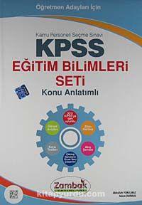 KPSS Eğitim Bilimleri Seti Konu Anlatımlı (6 Kitap) / Öğretmen Adayları İçin - Kollektif pdf epub