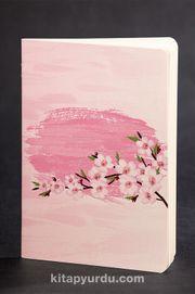 Akıl Defteri - Dokun ve Hisset Serisi - Kiraz Çiçekleri Pembe