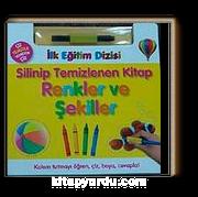 Silinip Temizlenen Kitap-Renkler ve Şekiller