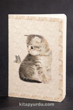 Akıl Defteri - Dokun ve Hisset Serisi - Kedi - Kelebek