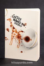 Akıl Defteri - Dokun ve Hisset Serisi - Zürafa - Kahve