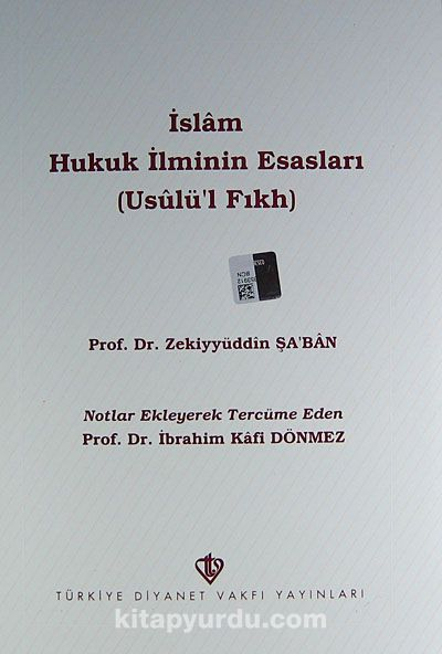İslam Hukuk İlminin Esasları (3.hm)