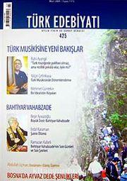 Sayı: 425 / Mart 2009 / Türk Edebiyatı / Aylık Fikir ve Sanat Dergisi