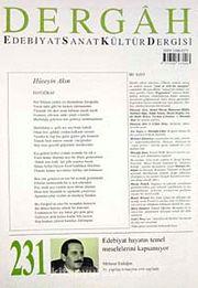 Dergah Edebiyat Sanat Kültür Dergisi Sayı:231 Mayıs 2009